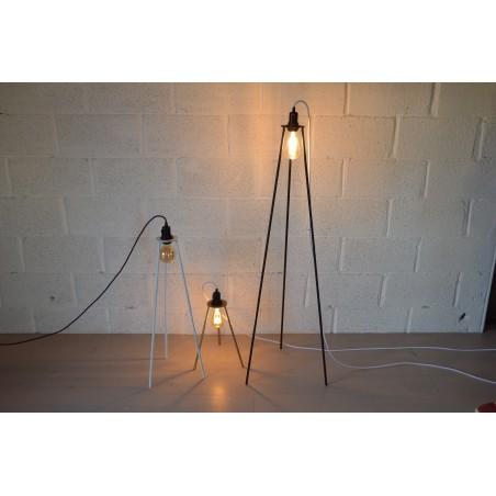 Lampadaire - pied de lampe trépied 120 cm