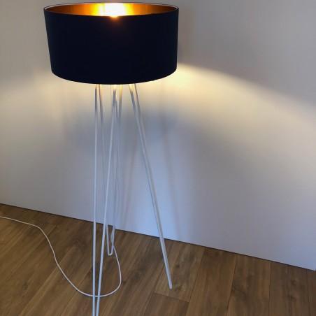 Lampadaire 140 cm forme Hairpin Legs série cuivre